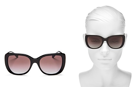 Tory Burch Women's Polarized Square Sunglasses, 52mm - Bloomingdale's_2