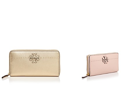 Tory Burch McGraw Zip Leather Continental Wallet - Bloomingdale's_2