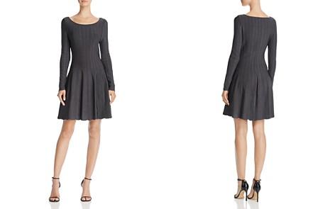 Elizabeth and James Oren Ribbed A-Line Dress - Bloomingdale's_2