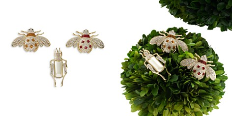 Joanna Buchanan Jeweled Insect Decorative Clips, Set of 3 - Bloomingdale's_2