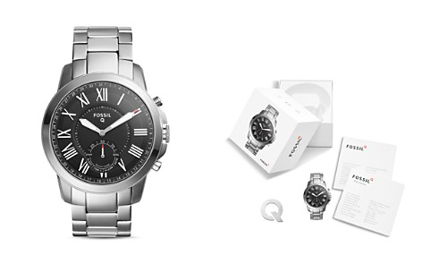 Fossil Q Grant Hybrid Smartwatch, 44mm - Bloomingdale's_2