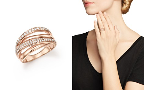 Bloomingdale's Diamond Crossover Ring in 14K Rose Gold, 0.50 ct. t.w. - 100% Exclusive _2
