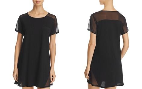 Naked Pima & Mesh Sleepshirt - Bloomingdale's_2