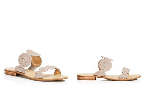 Jack Rogers Women's Lauren Suede Slide Sandals - Bloomingdale's_2