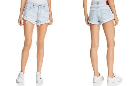 Nobody Boho Cuffed Denim Shorts in Vanished - Bloomingdale's_2