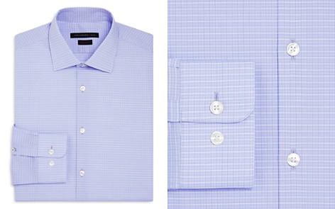 John Varvatos Star USA Grid Regular Fit Stretch Dress Shirt - Bloomingdale's_2