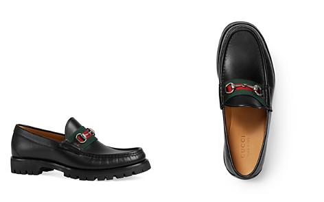 Gucci Men's Lug Sole Loafers - Bloomingdale's_2