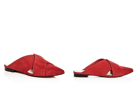 1.STATE Women's Rime Suede Pointed Toe Mules - Bloomingdale's_2