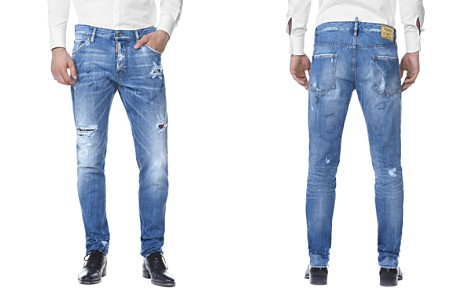 DSQUARED2 Cool Guy Slim Fit Jeans in Light Blue Marks - Bloomingdale's_2