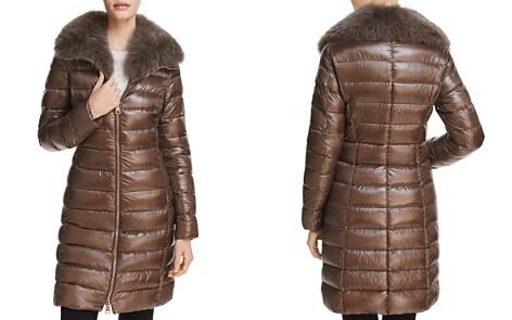 Herno Fox Fur Neck Nylon Down Coat - Bloomingdale's_2