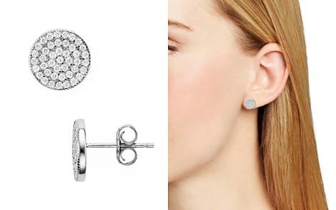 AQUA Sterling Silver Circle Stud Earrings - 100% Earrings - Bloomingdale's_2