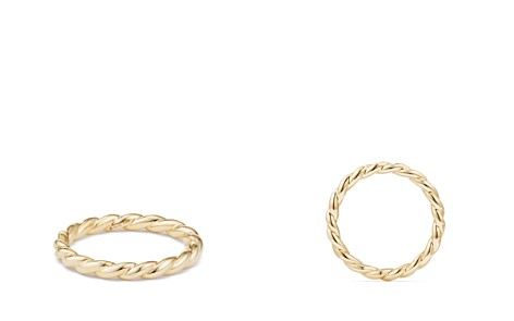 David Yurman Paveflex Ring in 18K Gold - Bloomingdale's_2