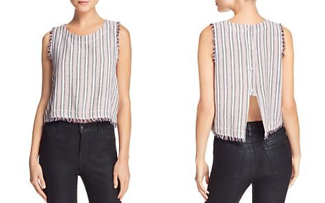 Bella Dahl Fringed Striped Top - Bloomingdale's_2