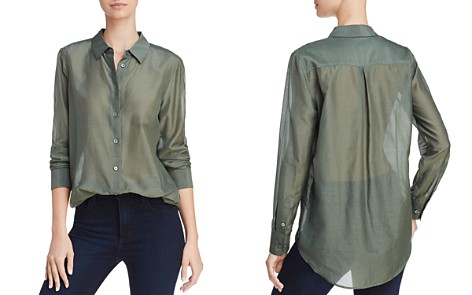 Equipment Essential Semi-Sheer Shirt - Bloomingdale's_2