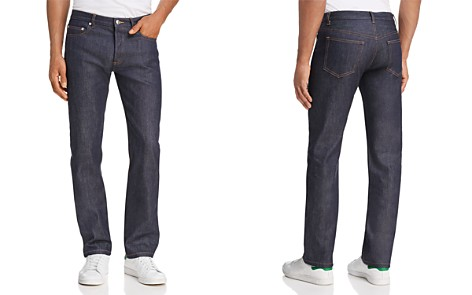 A.P.C. New Standard Straight Fit Jeans in Dark Blue - Bloomingdale's_2