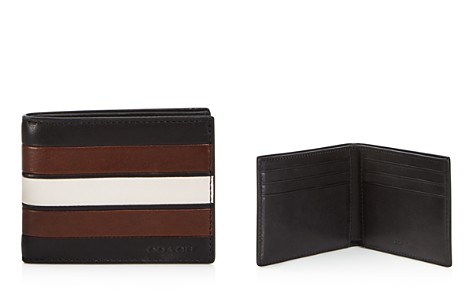 COACH Varsity Striped Wallet - 100% Exclusive - Bloomingdale's_2