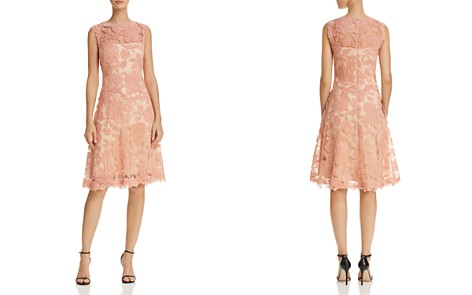 Tadashi Petites Lace Illusion Dress - Bloomingdale's_2