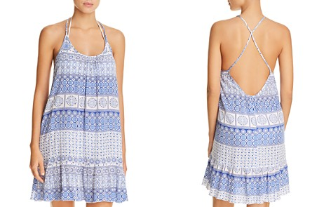J. Valdi Strappy Back Ruffle Dress Swim Cover-Up - Bloomingdale's_2