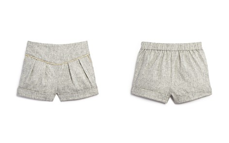 Bardot Junior Girls' Pleated Shorts with Metallic Trim - Baby - Bloomingdale's_2