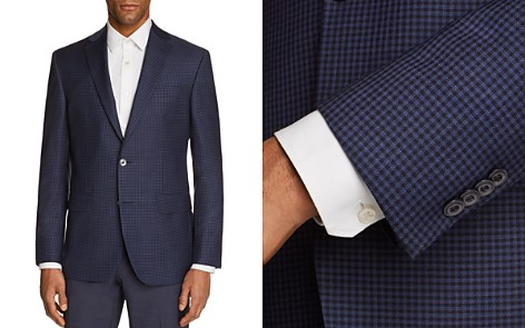 Jack Victor Tonal Check Regular Fit Sport Coat - Bloomingdale's_2
