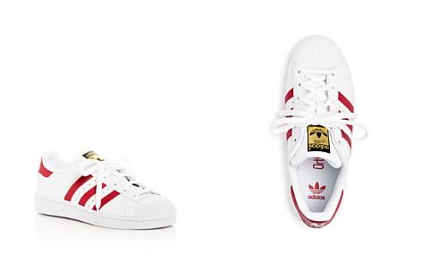 Adidas Unisex Superstar Lace Up Sneakers - Big Kid - Bloomingdale's_2