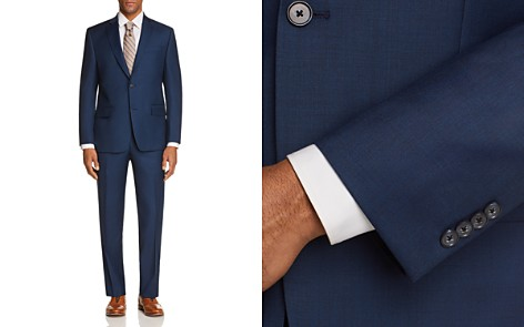 Michael Kors Textured Solid Classic Fit Suit Separates - 100% Exclusive - Bloomingdale's_2