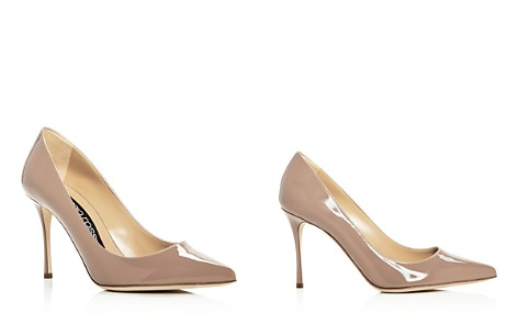 Sergio Rossi Women's Godiva Patent Leather Pointed Toe Pumps - Bloomingdale's_2
