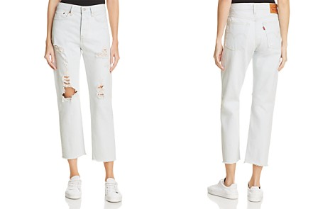 Levi's Wedgie Straight Jeans in Thin Ice - 100% Exclusive - Bloomingdale's_2