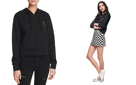 Honey Punch Heart Hooded Sweatshirt - 100% Exclusive - Bloomingdale's_2