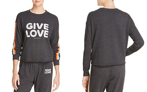 Spiritual Gangster Give Love Sweatshirt - 100% Exclusive - Bloomingdale's_2