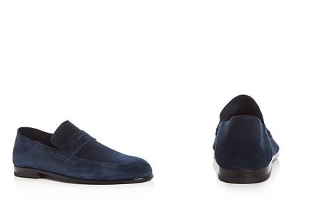 Harrys of London Men's Edward Suede Penny Loafers - Bloomingdale's_2