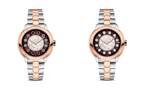 Fendi IShine Rotating Gemstones Two-Tone Watch, 33mm - Bloomingdale's_2