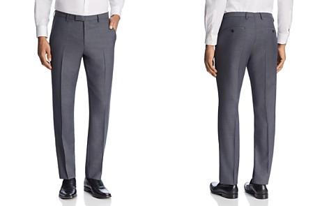 BOSS Leenon Regular Fit Textured Micro Check Dress Pants - Bloomingdale's_2