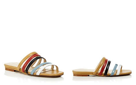 Creatures of Comfort Women's Como Strappy Leather Slide Sandals - Bloomingdale's_2