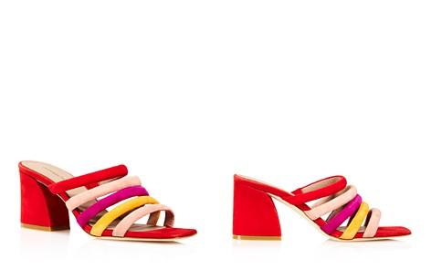 Donald Pliner Women's Wes Color-Block Suede High-Heel Slide Sandals - 100% Exclusive - Bloomingdale's_2