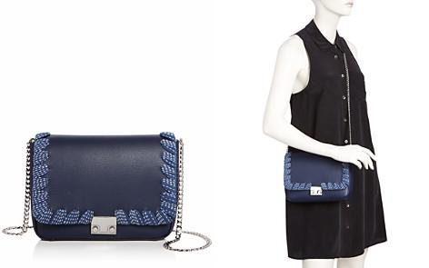 Loeffler Randall Lock Leather Shoulder Bag - Bloomingdale's_2