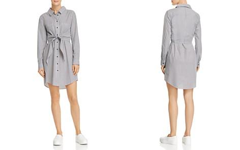 Sanctuary Striped Tie-Front Shirt Dress - 100% Exclusive - Bloomingdale's_2