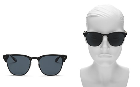 Ray-Ban Women's Unisex Clubmaster Square Sunglasses, 47mm - 100% Exclusive - Bloomingdale's_2