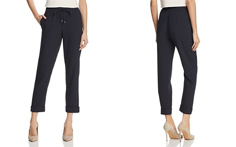 Emporio Armani Cropped Jogger Pants - 100% Exclusive - Bloomingdale's_2