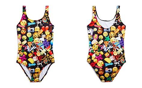 Terez Girls' Mixed Emoji Swimsuit - Little Kid, Big Kid - Bloomingdale's_2