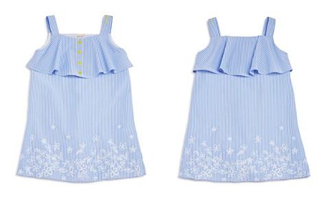 Armani Junior Girls' Striped Embroidered Poplin Dress - Big Kid - Bloomingdale's_2