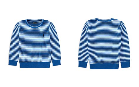 Polo Ralph Lauren Boys' Striped Crewneck Sweater - Little Kid - Bloomingdale's_2