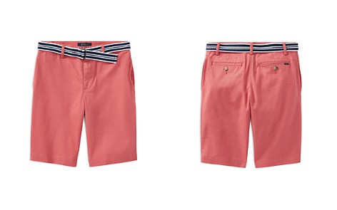 Polo Ralph Lauren Boys' Slim-Fit Stretch Shorts with Belt - Big Kid - Bloomingdale's_2