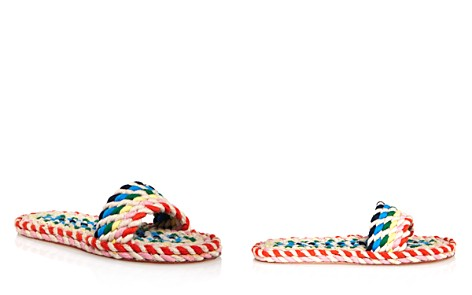 Loeffler Randall Women's Elle Woven Rainbow Slide Sandals - Bloomingdale's_2
