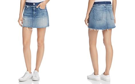 Hudson Custom Vivid Denim Mini Skirt in Rock Steady - Bloomingdale's_2
