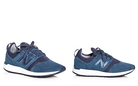 New Balance Women's 247 Suede Lace Up Sneakers - Bloomingdale's_2