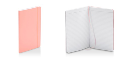 Poppin Blush Medium Soft Cover Notebook - Bloomingdale's_2