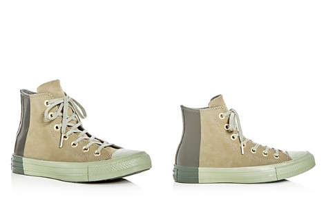 Converse Women's Chuck Taylor All Star Tonal Nubuck Leather High Top Sneakers - Bloomingdale's_2