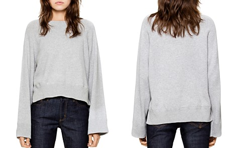 Zadig & Voltaire Lea High/Low Sweater - Bloomingdale's_2