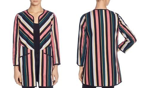 CATHERINE Catherine Malandrino Pip Striped Jacket - Bloomingdale's_2